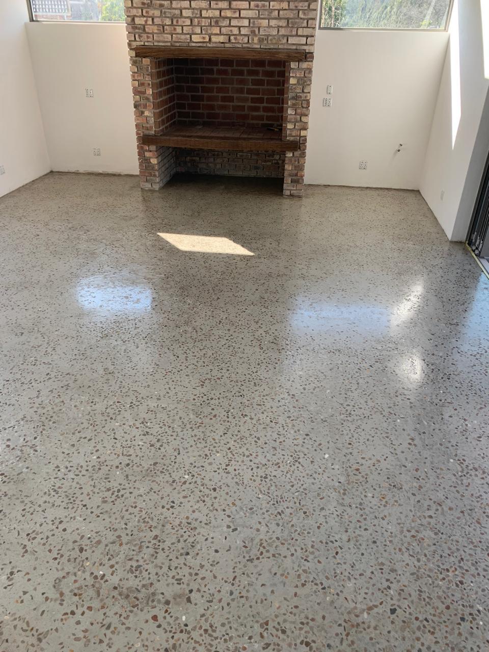 Sealed floor - Concrete sealed floor - WaterKote - Waterproofing - George - South Africa